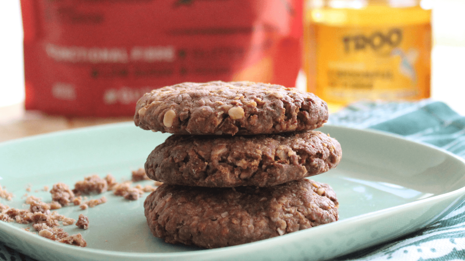 Oat Chocolate Cookies