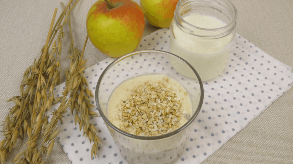 Troo Overnight Oats with Apple